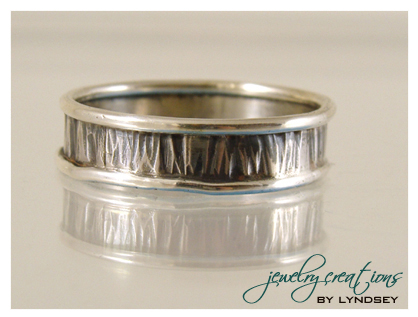 banded wedding ring