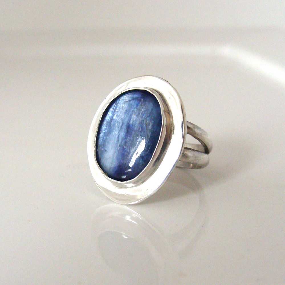Kyanite cocktail ring