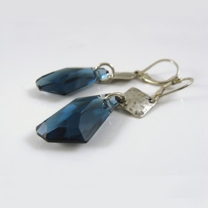 Montana Blue Crystal earrings