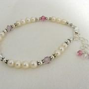 Aviva's family birthstone bracelet