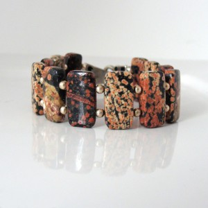 Mexican snowflake cuff bracelet