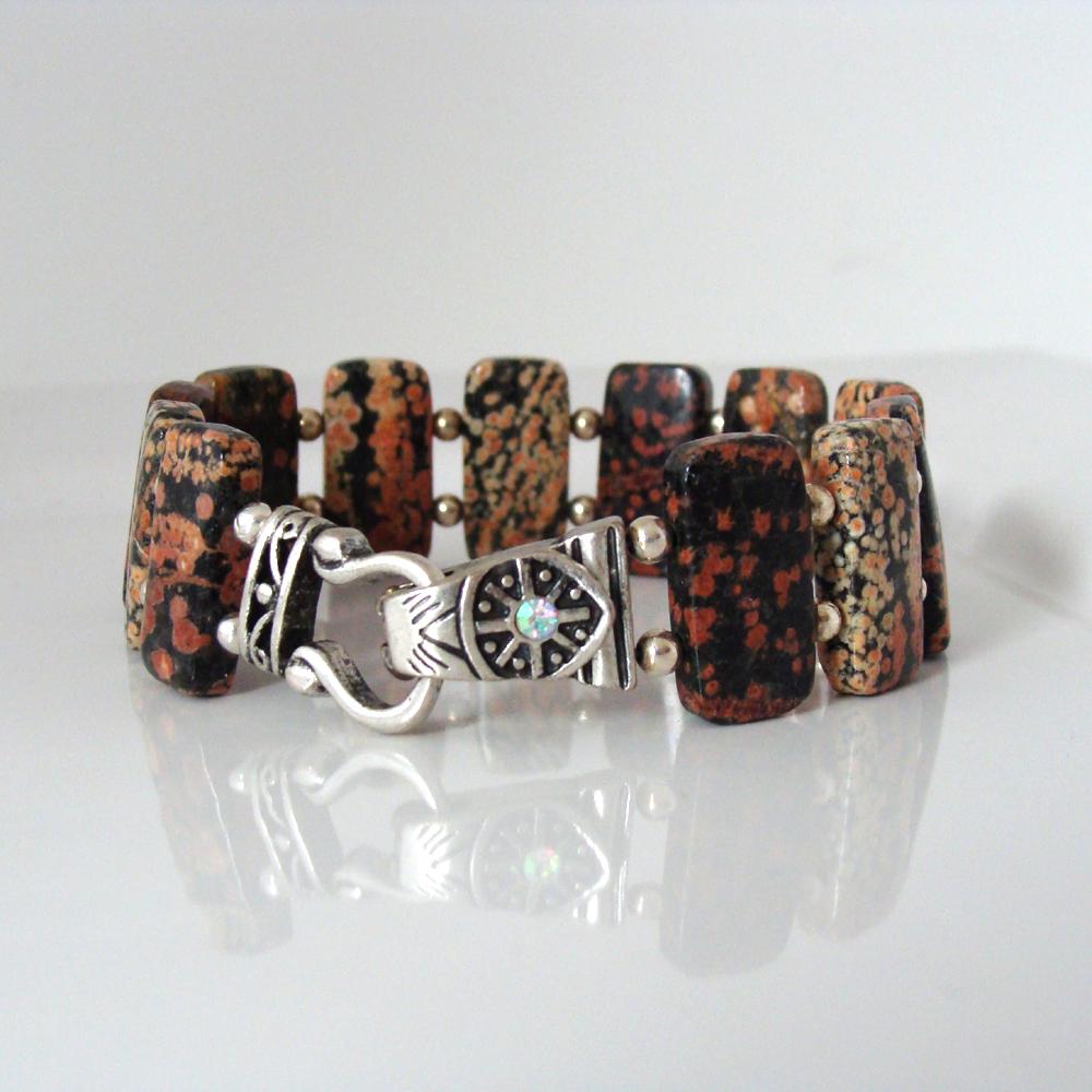 Mexican snowflake bracelet