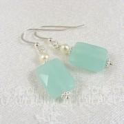 Sea mist earrings